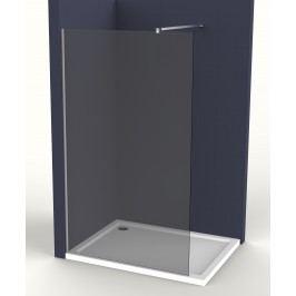 Pevná stěna Anima Walk-in 140 cm, kouřové sklo, chrom profil WI140KS