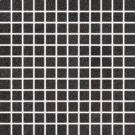 Mozaika Rako Unistone černá 30x30 cm, mat, rektifikovaná DDM0U613.1
