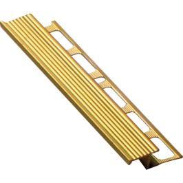 Lišta schodová Z mosaz, 10 mm, 250 cm MOSC10250