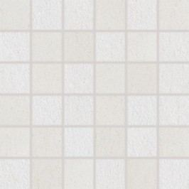 Mozaika Rako Unistone bílá 30x30 cm, mat, rektifikovaná DDM06609.1