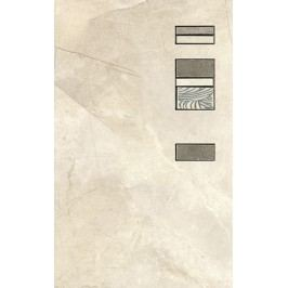 Dekor Ege Alviano bianco 25x40 cm, mat ALV01DAN25