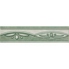 Listela Multi Laura zelená 6x25 cm, lesk WLAGF055.1