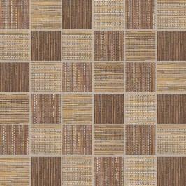 Mozaika Dom Canvas red/gold 33x33 cm, mat DCAM58