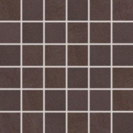 Mozaika Rako Sandstone Plus hnědá 30x30 cm, mat, rektifikovaná DDM06274.1