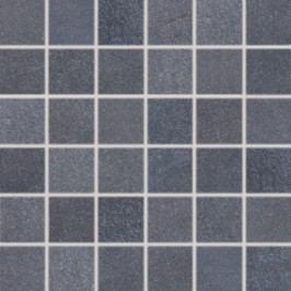 Mozaika Rako Sandstone Plus černá 30x30 cm, mat, rektifikovaná DDM06273.1