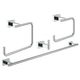 Grohe Essentials Cube Sada doplňků, chrom 40778001