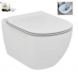 Závěsný WC se sedátkem softclose Ideal Standard Testra, zadní odpad, 53cm SIKOSIST3503