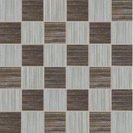 Mozaika Dom Canvas grey/black 33x33 cm, mat DCAM47
