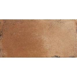 Dlažba Rako Via hnědá 15x30 cm, mat DARJH713.1