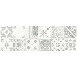 Dekor Rako Majolika šedá 20x60 cm, lesk WARVE147.1