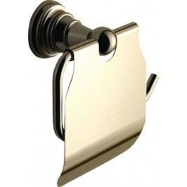 DIAMOND držák toaletního papíru s krytem, bronz