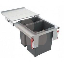 Odpadkový koš FRANKE Sorter Garbo 45-2 1x 18 l, 1x 12 l