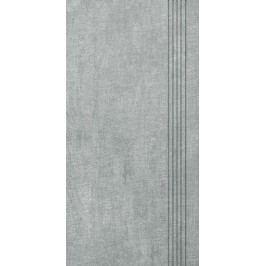 Schodovka Multi Tahiti světle šedá 30x60 cm, mat DCPSE513.1