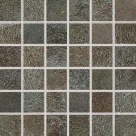 Mozaika Rako Como hnědá 30x30 cm, mat, rektifikovaná DDM05694.1