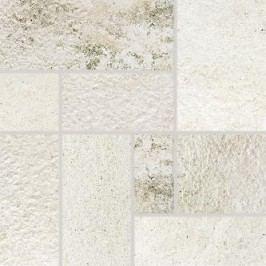 Dekor Rako Como bílá 33x33 cm, mat DDP3B692.1