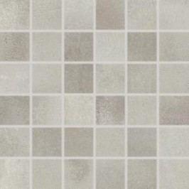 Mozaika Rako Via šedá 30x30 cm, mat, rektifikovaná DDM05711.1