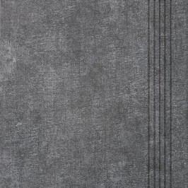 Schodovka Multi Tahiti tmavě šedá 33x33 cm, mat DCP3B514.1