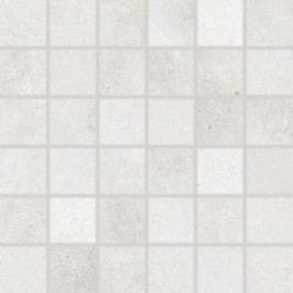 Mozaika Rako Form světle šedá 30x30 cm, mat, rektifikovaná DDM05695.1