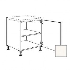 ERIKA24 Kuchyňská skříňka spodní 60 cm 1D pravá, bílá lesk 450.UD60.R