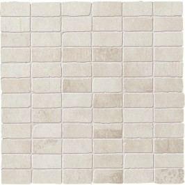 Mozaika Dom Entropia bianco muretto 30x30 cm, mat DEN10MM