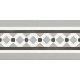 Listela Peronda FS Patchworks grey fog 22,5x45 cm, mat CHENLEYFGR