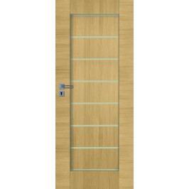 Interiérové dveře NATUREL Perma, 80 cm, pravé, jilm, PERMAJ80P