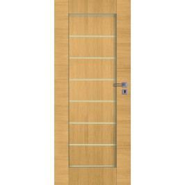 Interiérové dveře NATUREL Perma, 70 cm, levé, jilm, PERMAJ70L