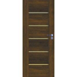 Interiérové dveře NATUREL Aura, 80 cm, levé, ořech karamelový, AURAOK80L