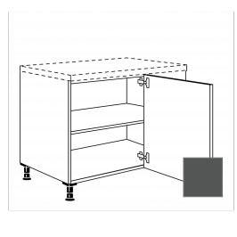 TERRY24 Kuchyňská skříňka spodní rohová 110 cm pravá, břidlicově šedá 334.UED9045.R