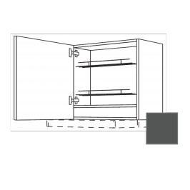 TERRY24 Kuchyňská skříňka 60 cm diges, levá, břidlicově šedá , CD30635 334.WDAF6057L