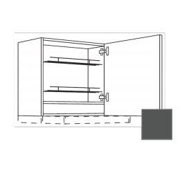 TERRY24 Kuchyňská skříňka 60 cm digest.prav, břidlicově šedá , CD30635 334.WDAF6057R
