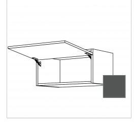 TERRY24 Kuchyňská skříňka horní 60 cm výklop, břidlicově šedá , plná 334.WK6033