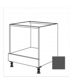 TERRY24 Kuchyňská skříňka spodní 60 cm pro troubu, břidlicově šedá 334.HUB