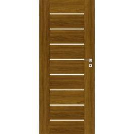 Interiérové dveře NATUREL Perma, 80 cm, levé, ořech karamelový, PERMAOK80L