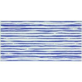 Dekor Fineza Happy modrá 20x40 cm, lesk WITMB313.1
