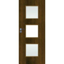 Interiérové dveře NATUREL Kano, 60 cm, pravé, ořech karamelový, KANO30OK60P