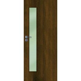 Interiérové dveře NATUREL Deca, 60 cm, pravé, ořech karamelový, DECA10OK60P