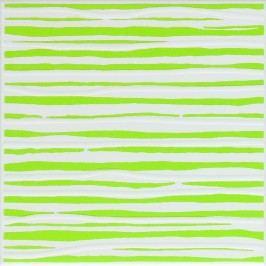 Dekor Fineza Happy zelená 20x20 cm, lesk WIT1N316.1