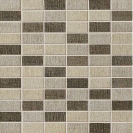 Mozaika Dom Tweed mix barev muretto hot 30x30 cm, mat DTWM01M