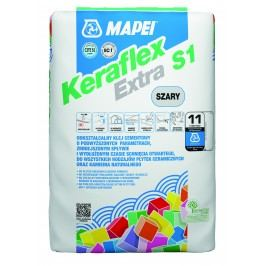 Lepidlo Mapei Keraflex Extra S1 25 kg šedá (C2TE S1) KERAFLEXEXTRA