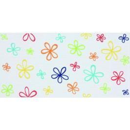Dekor Fineza Happy mix barev Flower 20x40 cm, mat WITMB318
