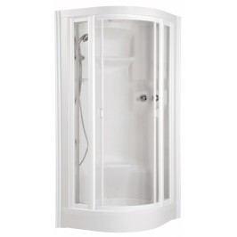 Teiko ECO Hydro masážní sprchový box 94,5 x 94,5 x 221cm, bílá