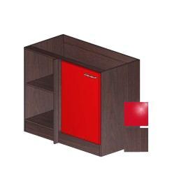 LOLA S 110 R červená/dub tmavý 5161371