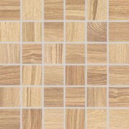 Mozaika Rako Board béžová 30x30 cm, mat, rektifikovaná DDM06142.1