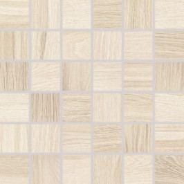 Mozaika Rako Board světle béžová 30x30 cm, mat, rektifikovaná DDM06141.1