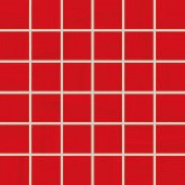 Mozaika Rako Air červená 30x30 cm, lesk WDM06041.1