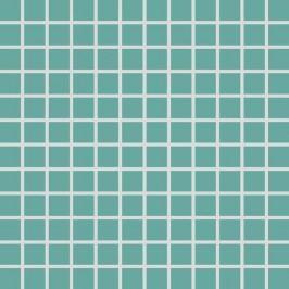 Mozaika Rako Color Two tyrkysová 30x30 cm, mat GDM02467.1