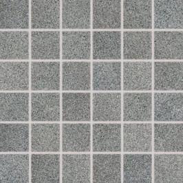 Mozaika Rako Grain šedá 30x30 cm, pololesk, rektifikovaná DDM06674.1
