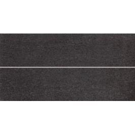 Prořez Rako Unistone černá 20x40 cm, mat WIFMB613.1