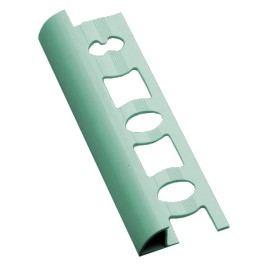 Lišta ukončovací oblá PVC světle zelená, 8 mm, 250 cm L825011